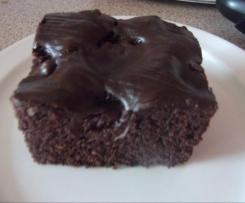 Kirsch-Kakao-Kuchen (Tassenkuchen)