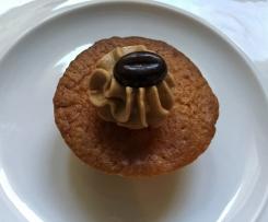 "Blondie Cupcakes mit Kaffeecreme ""Latte Macchiato"""
