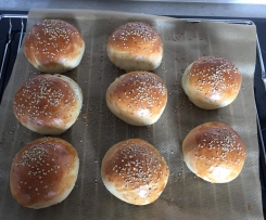 Burger Buns nach Jörn Fischer