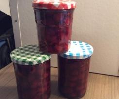 Kirschkompott / Eingemachte Kirschen ( Kirschen auf Vorrat)