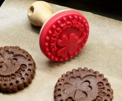 Schoko Glücks - Kekse für Keksstempel