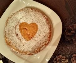 Winterlicher Hokaido-Kürbis-Kuchen I vegan