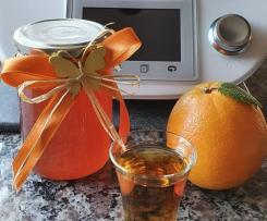 Quitten-Orangen-Gelee mit Orangenlikör