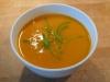 Apfel-Kürbis-Suppe