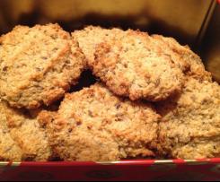 Dinkel-Körner-Kekse, Frühstückskekse Fructosearm