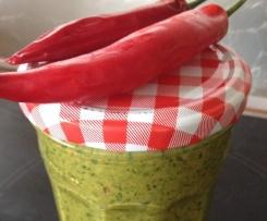 Rucola-Peperoni-Pesto