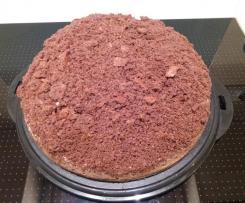 Schwarzwälder Maulwurfhügel / Maulwurfkuchen