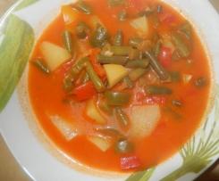 Paprika-Bohnen-Topf