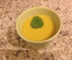Kürbis-Apfel Suppe