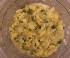schwäbischer Kartoffelsalat mit Gurke