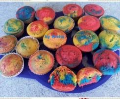 Papageien-Muffins