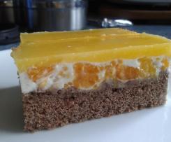 """Käsekuchen"" mit Mandarinen, Milch-/Eifrei"