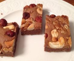 Brownies - mit ganzen Nüssen