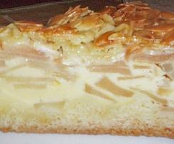 Beste Apfel- Bienenstich- Torte zum Kaffee