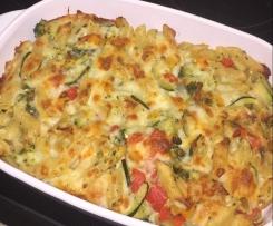 Nudel-Gemüse-Auflauf
