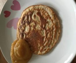 Dinkelvollkorn-Pfannkuchen OHNE Zucker