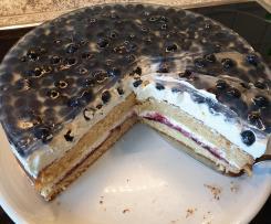 Blaubeer-Mascarpone-Torte