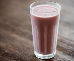 Erdbeer-Bananen-Joghurt Drink