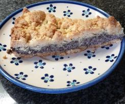 Mohn Streusel Kuchen für 26er Springform