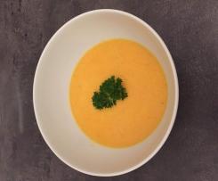 Karotten - Kokos - Ingwer Suppe