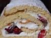 Erdbeer-Quark-Biskuitrolle super Schnell