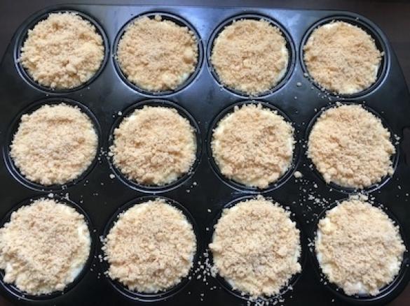 Apfel Kasekuchen Muffins Mit Crumble Von Laloona Ein Thermomix