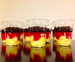 EM/WM Dessert - Deutschland - Schwarz Rot Gold