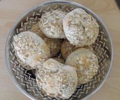 Variation von Körnerbrötchen mit Dinkel ... ohne Gehzeit, in den kalten Ofen