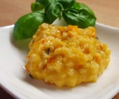 Risotto (mit Zucchini, Karotte und getr. Tomaten)