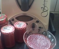 Erdbeer-Rhabarba-Marmelade (sehr lecker)