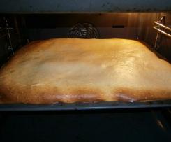 Rahmkuchen vom Blech
