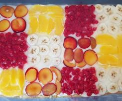 Obstkuchen Patchwork