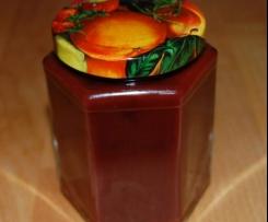 Variation von Zwetschgen-Schoko-Marmelade