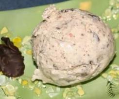 Variation von Bananen - Schoko - Buttermilch Eis