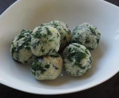 Spinat-Gorgonzola-Knödel