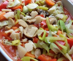 Susi´s Nudelauflauf mit viel Gemüse
