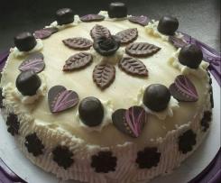 Marzipan-Mohn-Torte