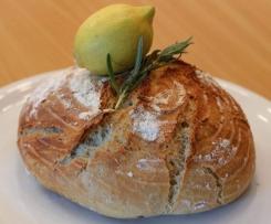 Zitronen-Rosmarin-Dinkelbrot