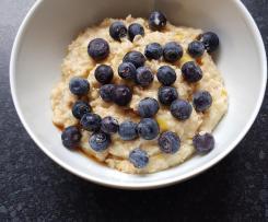 Schnelles Apfel Porridge