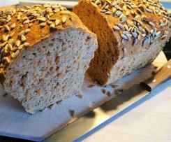 Karotten-Sonnenblumen-Brot