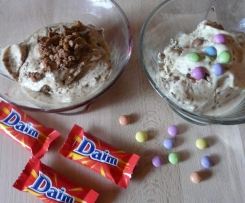 Eis mit Smarties oder Daim Wie beim Mc D....