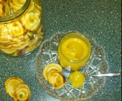 Zitronencreme Lemon Curd / Brotaufstrich / Backzutat