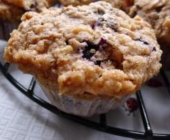 American Blueberry Muffins / Blaubeer Muffins