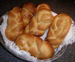 Zucker-Zöpfchen (Hefeteig)