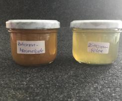 Zitronenmarmelade + Zitronengelee