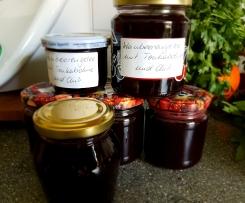 Weintraubengelee mit Tonkabohne und Chili