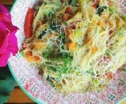 Veganer Glasnudel - Salat