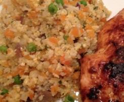 Blumenkohlreis - falscher Reis, low carb