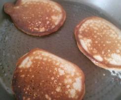 Bananen-Dinkelvollkorn-Pancakes