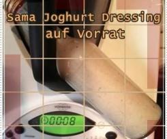 Joghurt Dressing auf Vorrat als Sattmacher